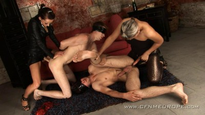 Str8Hell-CFNMEurope-WilliamHiggins - Mirek and Kaja