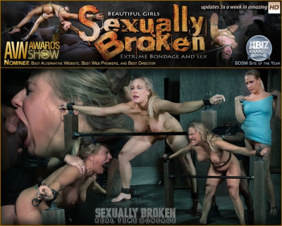 Sexuallybroken - Feb 01, 2016 - Angel Allwood BaRS show continues with a spit roasting.