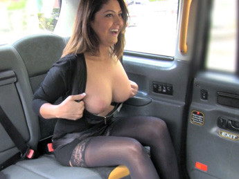 Belgium MILF falls for taxi charm