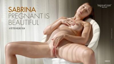 Sabrina - Pregnant Is Beautiful