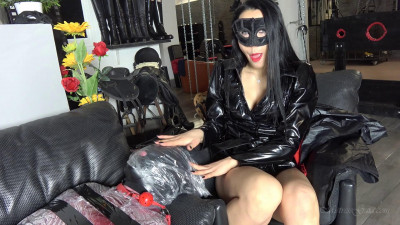 Mistress Gaia - Bagged And Gagged