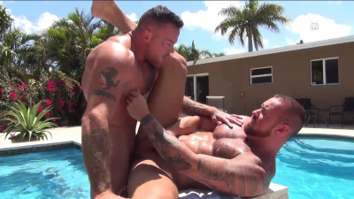 Michael Roman and Sean Duran Flip Fuck and Breed (2017)