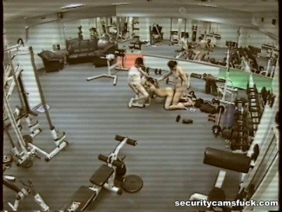 Hidden camera at the gym
