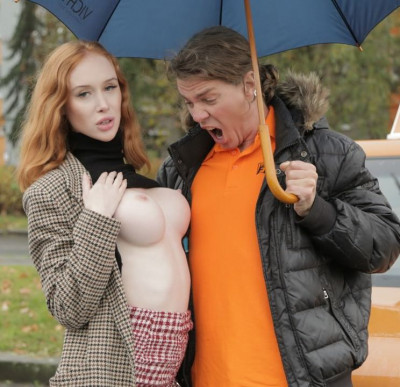 Lenina Crowne — Redhead Distracts with no bra on FullHD 1080p