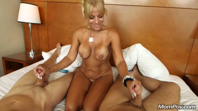 42 year old busty mom tries new things