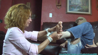 He Throat Fucked Me with His Feet Then Left Me Hogtied part 1