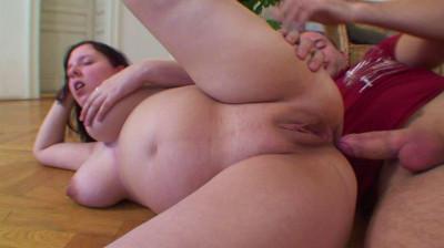 Pregnant Nata in hardcore action