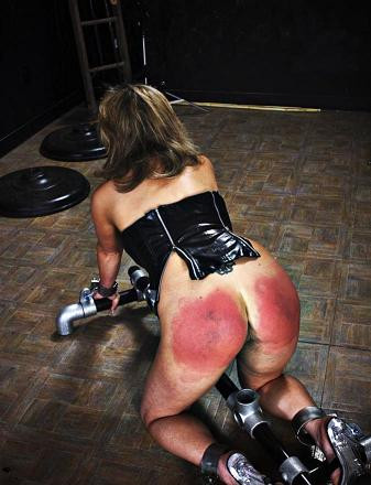 Spanking lessons for you