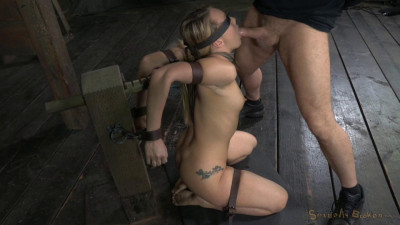 SexuallyBroken - AJ Applegate shackled and blindfolded... March 31, 2014