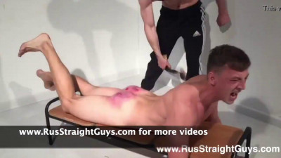 RusStraightGuys – Boy spanked hard