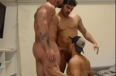 Superboy – Brazilian Bodybuilder Threesome
