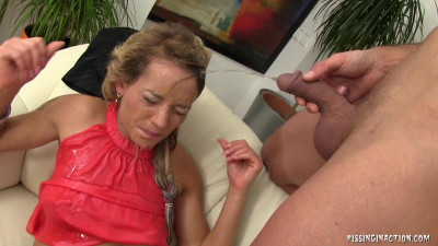 Description Naughty sexy girl have fun with her man