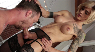 Deep Anal With Perfect Blond Tranny