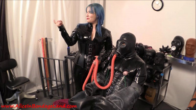 Serious Bondage Hazmat Gear – Layered Rubber Threesome Pt 2