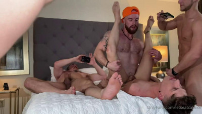 The Fantastic Foursome – Kaden & Tyler Hylls with Rick & Griff