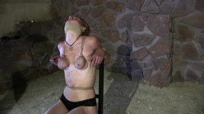 Supertightbondage - Supertight Breast Bondage Predicament in the new Dungeon