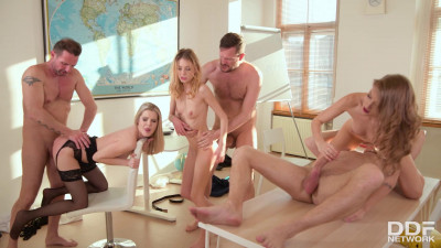 Rebecca Volpetti, Tiffany Tatum, Rose - Teens Pounded by their Teachers