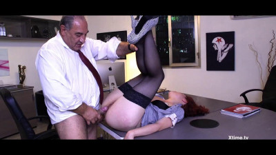 Silvia Lamberti Squirting Office