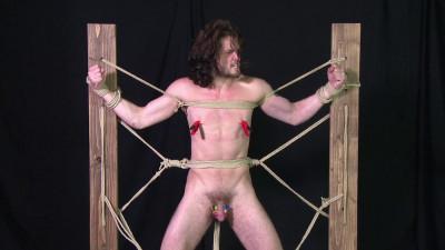 Description Roped pretty boy pumps out a load of cum duncan vol. 9