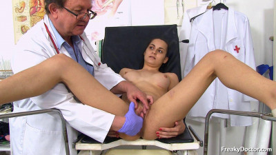 Ashley Woods — 19 years girls gyno exam