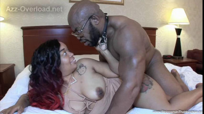 big tit tattoed ebony Vixen Vanity fucked by muscle guy in the hotel 480p