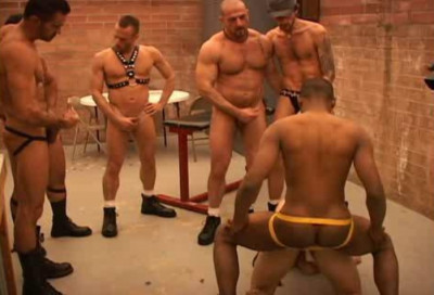 Ace Gangbang With Cream Pies