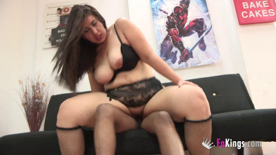 Big booty nasty camila get pounded hard by bbc at bed