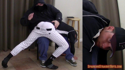 Spanking Straight Boys - Eric in Baseball Gear