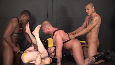 rar - Black Attack Part 1 (Redd, Dusty Williams, Texas Bull & Daxton Ryker)
