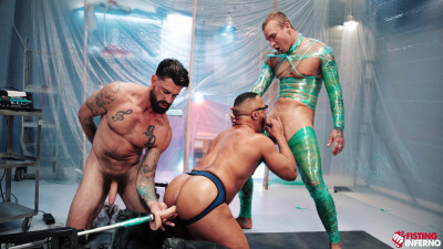 Dillon Diaz, Alpha Wolfe, Isaac X – Wrapped, Scene #04