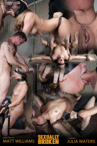 Julia Waters first ever porn shoot. Brutal throat fuckings, with amazing bondage (classic, online, hot, hard)