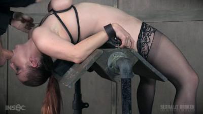 Busty Bella Beautifully Bound Backwards Beaten with Boners! Part 2