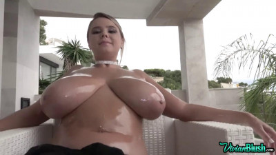 Oily Tits Pussy