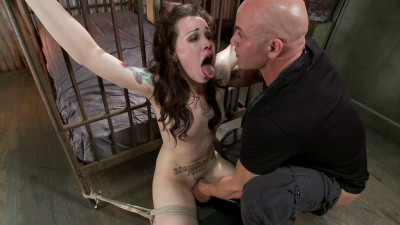 Bondage, strappado and torture for very hot brunette part 1
