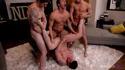 Description Markie More, Derrick Dime, Bridger Watts and Rod Peterson