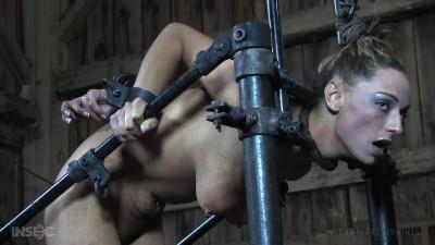 Bondage, suspension and torture for horny slut part 3