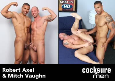Robert Axel and Mitch Vaughn