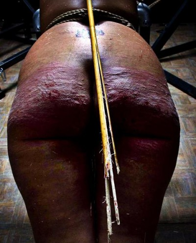 Masters of flogging in action