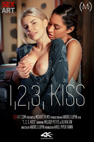 Description Melody Petite, Olivia Sin - One, Two, Three, Kiss(2019)