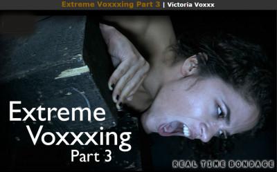 Realtimebondage – Extreme Voxxxing Part 3