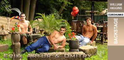 WHiggins - Dmitry, Artur and Erik - Backstage - 30-09-201