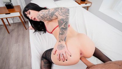Description Tattooed Charlotte Sartre Hardcore Sex POV HD