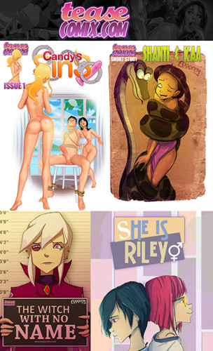Teasecomix collection (497 pages in 16 stories, eng)