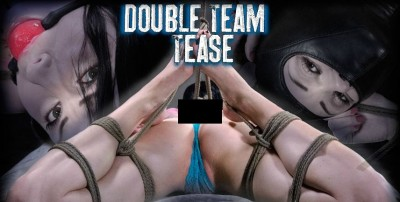 Hardtied - Dec 04, 2013 - Double Team Tease - Veruca James - Cyd Black - Elise Graves