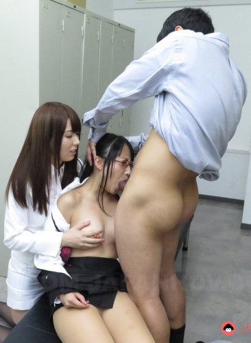 Yui Hatano teaches Yoshimi Saaya all about blowjob FullHD 1080p