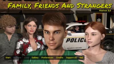 Description Family, Friends and Strangers