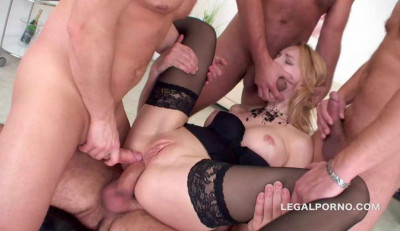 Extreme orgy with DAP & DP