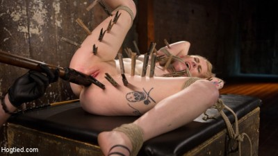 Blonde Pain Slut In Brutal Bondage And Suffering Grueling Punishment