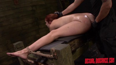 Rose Red Tyrell's Asshole Is Fucked Rough