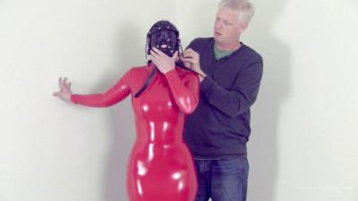 Serene Isley – Red PVC Mummy